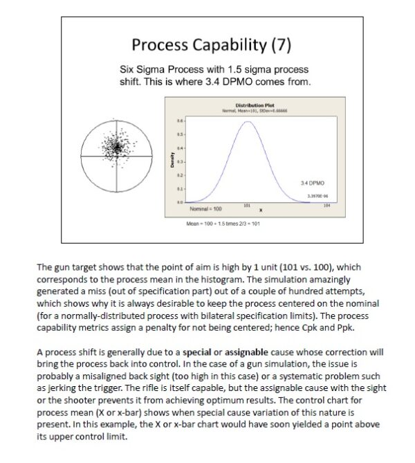 Sample slide, process capability